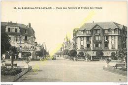 44.  LA BAULE LES PINS .  Place Des Palmiers Et Avenue Des Tilleuls . - La Baule-Escoublac