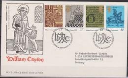 Grossbritannien 1976 MiNr.719 - 722 FDC 500 Jahre Buchdruck In England ( D 6202 )günstige Versandkosten - FDC
