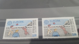 LOT 452129 TIMBRE DE FRANCE NEUF** LUXE VARIETE BANDE JOGGING TRES DECALE - France