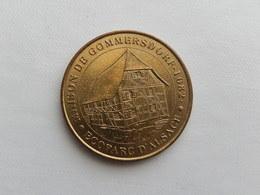 Jeton Touristique 2002  Maison De Gommersdorf - Ecoparc D'Alsace - Monnaie De Paris