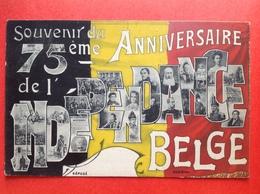 1905 - SOUVENIR DU 75ème ANNIVERSAIRE DE L'INDEPENDANCE BELGE - ROIS ET REINES DE BELGIQUE - Evènements