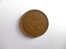 (A213)-BELGIQUE-25 CENTIMES 1930 - 1909-1934: Albert I