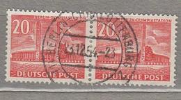 GERMANY BERLIN 1953 Used (o) Mi 113 #24636 - [5] Berlin