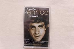 ENRICO MACIAS BEST OF ENREGISTREMENTS ORIGINAUX CHEZ EMI,CASSETTE EN TRES BONNE ETAT.... - Audiokassetten