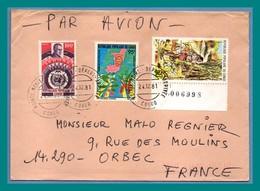 Lettre Congo TP ONU Chasse ...1981 > France Orbec - Congo - Brazzaville
