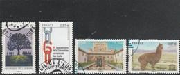 FRANCE 2010 CONSEIL DE L EUROPE + UNESCO YT 146 + 147 + 148 +149 OBLITERE  (note) - Dienstpost
