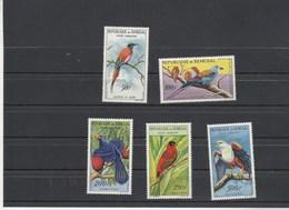Sénégal Yvert Série PA 31 à 35 *  - Avec Charnière - Oiseaux - Sénégal (1960-...)