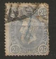 Timbre Belgique N° 31 - 1869-1883 Leopold II