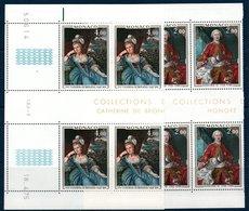 MON 1975  Prince Et Princesse De Monaco   N° YT 1029-1030  ** MNH Blocs De 4 Coin Daté - Monaco
