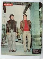 FOOTBALL 1970/75 PHOTO DEDICACE AUTOGRAPHE ORIGINAL POLI ET GUILLOU BE - Autographes