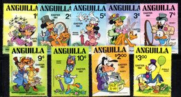 APR717 - ANGUILLA 1981, Yvert Serie N. 400/408  ***  MNH  (2380A)  PASQUA EASTER - Disney