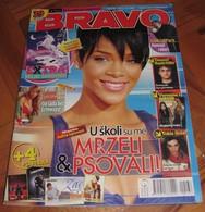 Rihanna Chester Bennington Linkin Park -  BRAVO Serbian February 2008 VERY RARE - Magazines