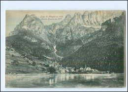 U6675/ Lago Di Alleghe  Monte Civetta Italien AK Ca.1900 - Italia