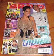 Rihanna Chris Brown -  BRAVO Serbian April 2008 VERY RARE - Books, Magazines, Comics