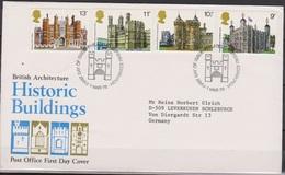 Grossbritannien 1978 MiNr.760 - 763 FDC Historische Bauten ( D 5635 )günstige Versandkosten - FDC