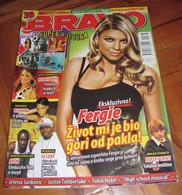 Rihanna Fergie -  BRAVO Serbian August 2007 VERY RARE - Magazines