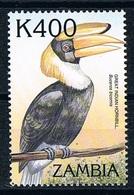 Timbre Stamp Oiseaux  Birds Toucans  Neuf MNH ** Zambie Zambia 2000 - Parrots