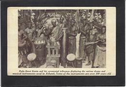 CPA Ghana Afrique Noire Royalty Non Circulé - French Congo - Other
