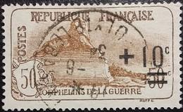 France Y&T N°167 Le Lion De Belfort +10 50Cc.+50c Brun. Oblitéré CàD - France