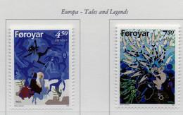PIA  - FAROER   - 1997  : Europa - Storie E Leggende    (Yv  313-14) - Isole Faroer