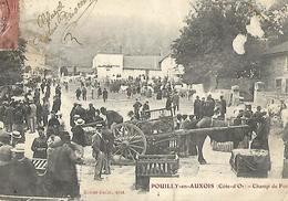 Pouilly En AUXOIS  Côte D'or  Marché Foire Attelage Ed Ribet Bazin - France