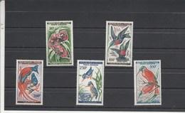 Tchad Yvert Série PA 2 à 6 ** Sans Charnière - Oiseaux - Tchad (1960-...)