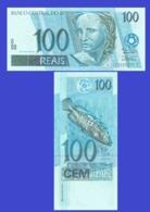 Brasil Brazil 100 RIAL 1994 - Brasil
