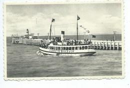 Blankenberge Cigarette Boule D'Or Bateau Ship Publicité - Blankenberge