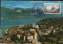 FDC 547 - FRANCE N° 1935 Congrès Philatélique Annecy Sur CM - Cartes-Maximum