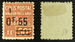 COLIS POSTAUX N° 59 TB Neuf N* Cote 5€ - Mint/Hinged