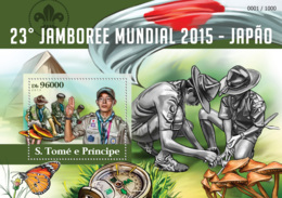 Sao Tome 2015  World Scout Jamboree 2015 Japan - Sao Tome And Principe