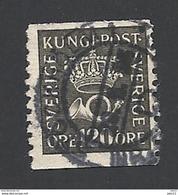 Schweden, 1921, Michel-Nr. 204 I, WA, Gestempelt - Usati