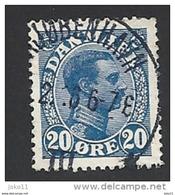 Dänemark 1913, Mi.-Nr. 70, Gestempelt - 1913-47 (Christian X)