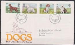 Grossbritannien 1979 MiNr.781 - 784 FDC Crufts-Hundeschau, London ( D 4446 )günstige Versandkosten - FDC