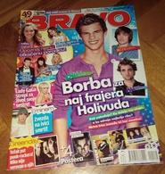 Taylor Lautner Miley Cyrus -  BRAVO Serbian June 2009 VERY RARE - Magazines