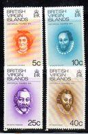 APR728 - BRITISH VIRGIN ISLANDS 1974 ,  Yvert Serie 268/271  ***  MNH - British Virgin Islands
