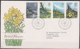 Grossbritannien 1979 MiNr.785 - 788 FDC Frühlingsblumen ( D 4424 )günstige Versandkosten - FDC