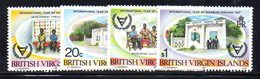 APR729 - BRITISH VIRGIN ISLANDS 1981 ,  Yvert Serie 420/423  ***  MNH  Handicap - British Virgin Islands
