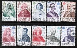SPAIN  Scott # 2123-32 F-VF USED (Stamp Scan # 493) - 1971-80 Oblitérés