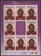 Uruguay (2019) - MS -  /  Nobel Prize - Rigoberta Menchu - Nobelprijs