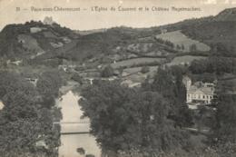 BELGIQUE - LIEGE - CHAUDFONTAINE - VAUX-SOUS-CHEVREMONT - L'Eglise Du Couvent Et Le Château Nagelmackers. - Chaudfontaine