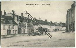 Montmirail (Marne) - Place Ferot - Feldpost - Montmirail