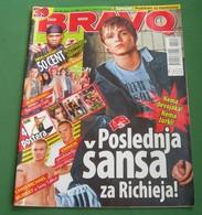 US5 Christopher Richard Rebelde - BRAVO Serbian March 2007 VERY RARE - Magazines