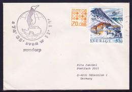 """SCHWEDEN, Antarctic-Exped. 1991 """" SVEA Swedarp """" Cachet , RARE ,look Scan !! 24.6-75 - Stamps"""