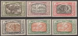 Etiopia 1919-1928 Selezione 6v MLH Vedere Scansione - Ethiopia