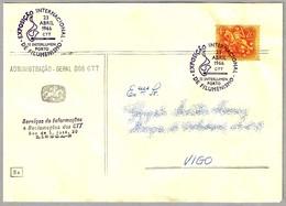 Exposicion FILUMENISMO - Coleccionismo De CAJAS DE CERILLAS  - MATCH - MATCHBOX. Porto 1966 - Bombero