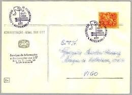 Exposicion FILUMENISMO - Coleccionismo De CAJAS DE CERILLAS  - MATCH - MATCHBOX. Matosinhos 1966 - Bombero