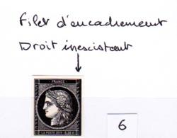 Cérès Variété  Non Dentelé, 170 Ans Du Premier Timbre De France 1849/2019 - France