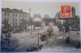 LYON-Place De La Cité-Carte Couleur - Lyon