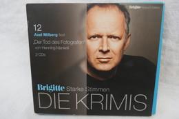"""2 Hörbuch CDs """"Der Tod Des Fotografen Von Henning Mankell"""" Aus Der Reihe Die Krimis Von Brigitte Edition Starke Stimmen - Sin Clasificación"""